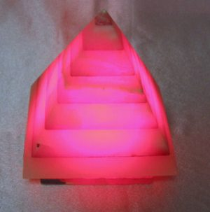 Red Chromotherapy Lamp