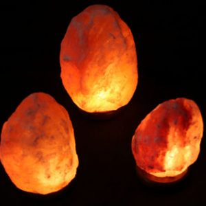 GP3-2 Natural Salt Lamps (SM) + 1 Natural Salt Lamp (MED)